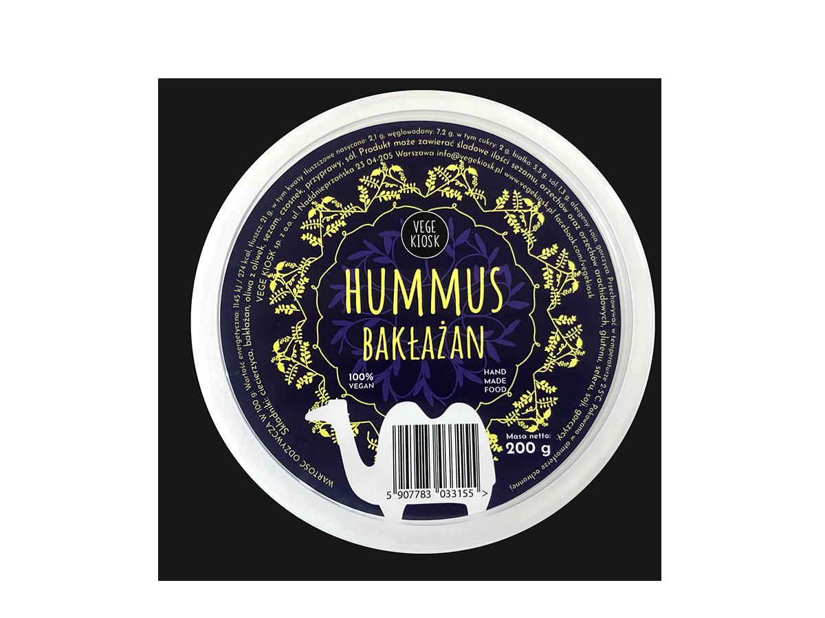 Hummus bakłażanowy