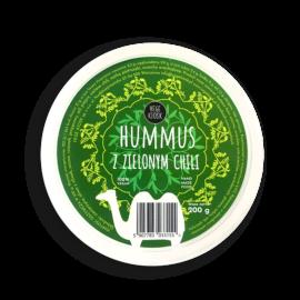 Hummus zzielonym chili