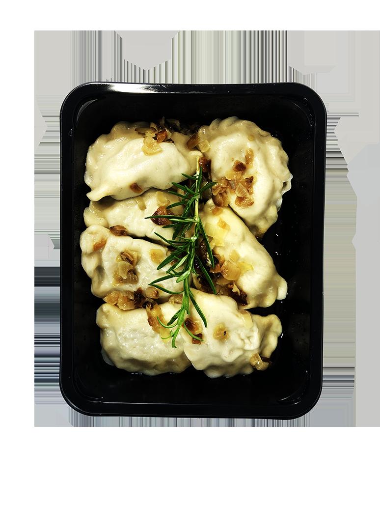Pierogi ruskie z tofu