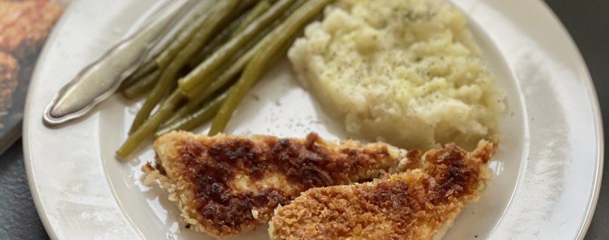 Chrupiące tofu ala ryba wpanierce
