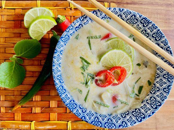 Zupa tajska kokosowa